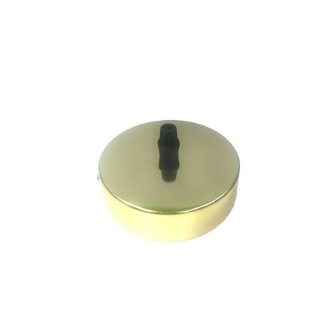 Eurolamp Ροζέτα Οροφής Χρυσό Φ100 - elemech.gr