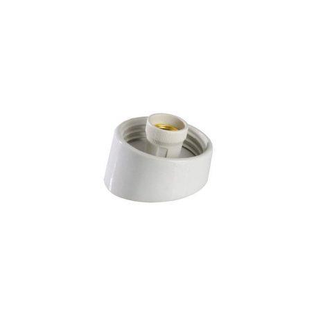 Eurolamp Βάση Γλόμπου Πορσελάνης Κυρτή E27 - elemech.gr